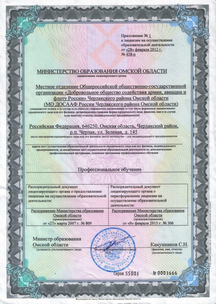 Приложение к лицензии_Профобразование